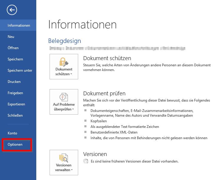 ERP-Belege in Microsoft Word erstellen ▷ AGOLUTION GmbH