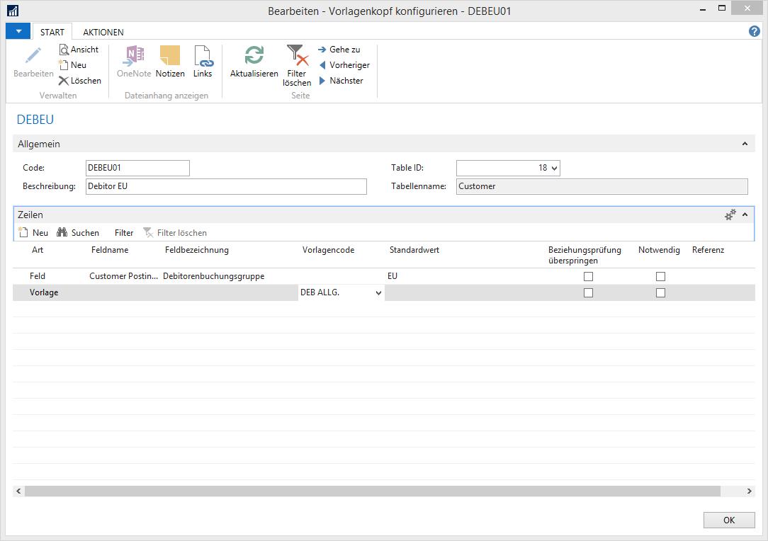 Stammdatenvorlagen zur Datenpflege nutzen ▷ AGOLUTION GmbH